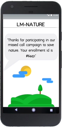 LM-NATURE Campaign SMS