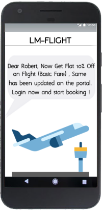 LM-FLIGHT SMS Offer